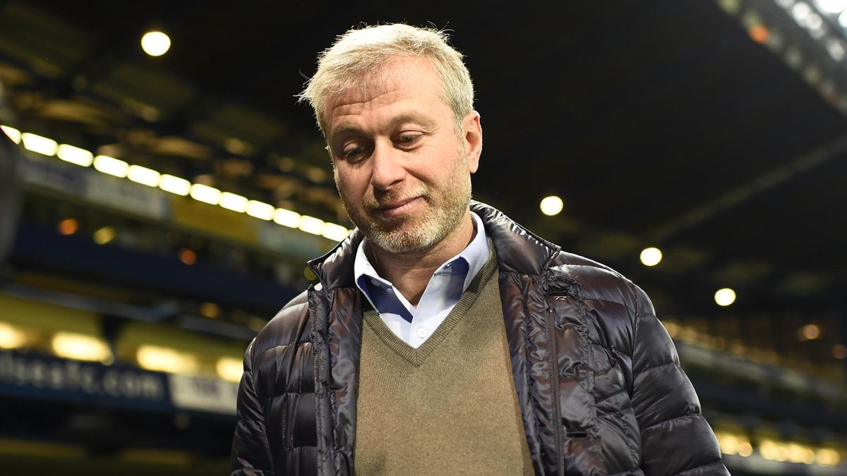 Chelsea owner Roman Abramovich after the game