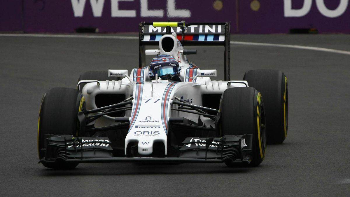 Valtteri Bottas (Williams) au Grand Prix d'Europe 2016