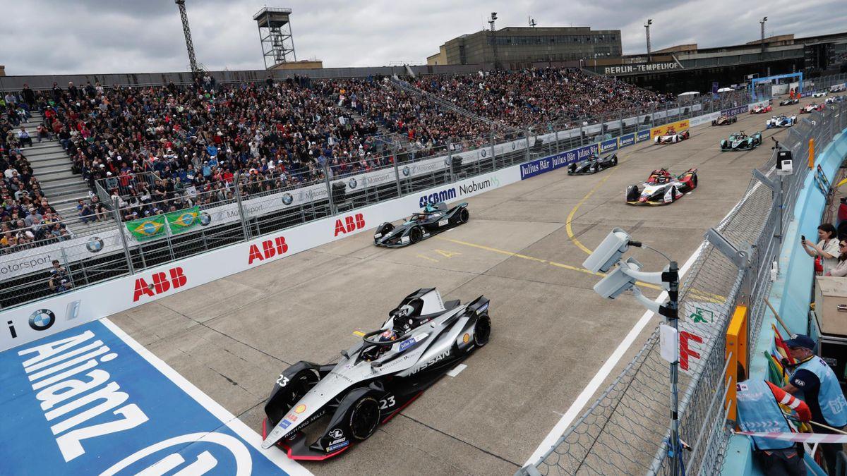 Die Formel-E-Saison 2019/2020 endet im August mit sechs Rennen in Berlin