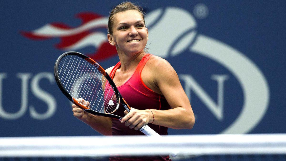 Riesenfreude über den Halbfinaleinzug bei Simona Halep