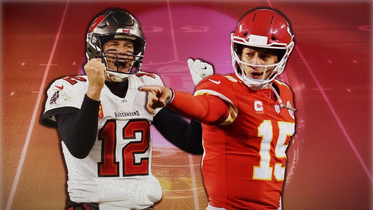 Tom Brady vs Patrick Mahomes, le choc du Super Bowl.