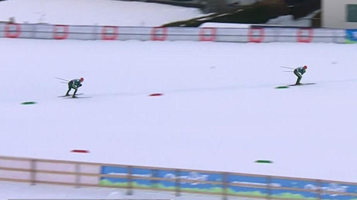 Nordic Combined : Val di Fiemme - Finishline