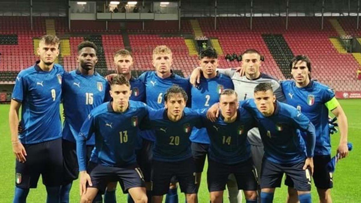 Italia Under 21 impegnata a Zenica contro la Bosnia, 7 ottobre 2021