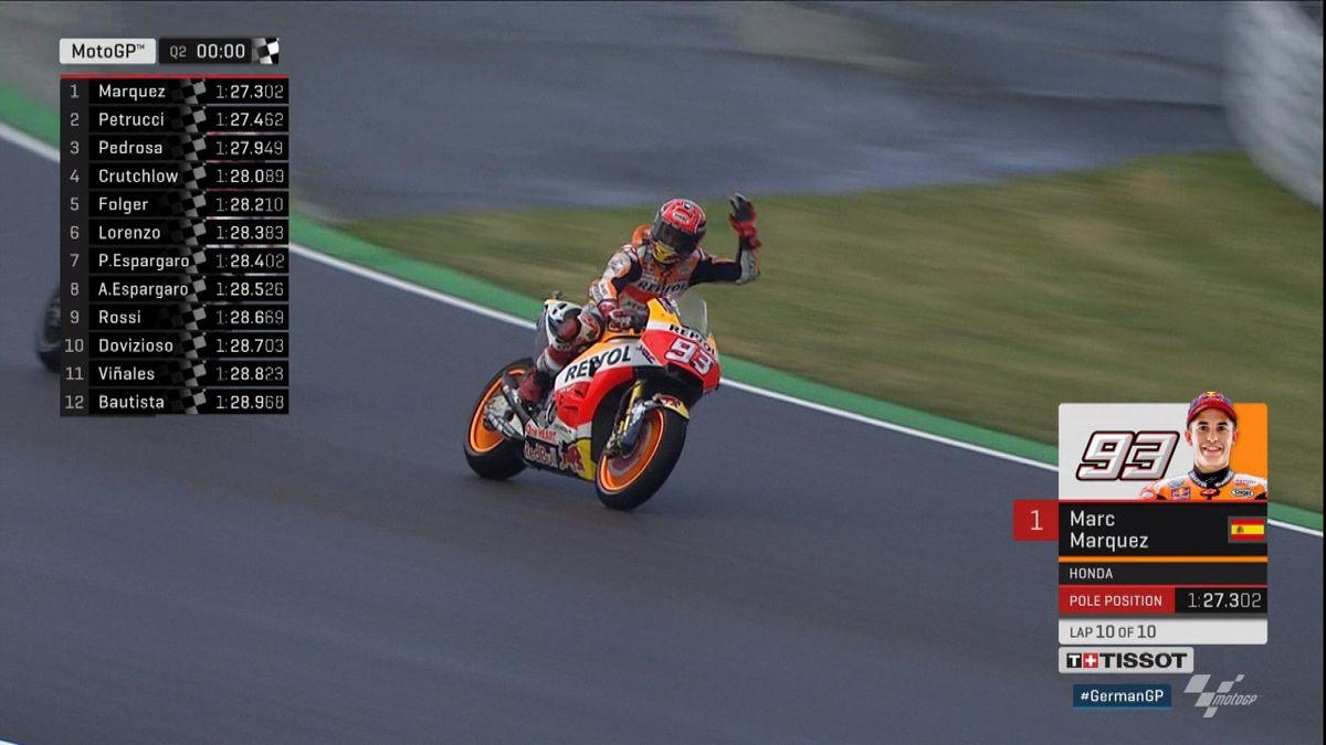 Pole lap Moto GP: Marc Marquez