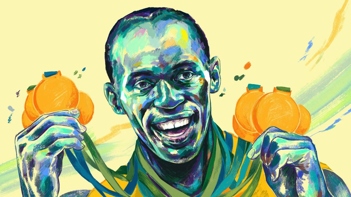 Usain Bolt - image by Allegra Lockstadt