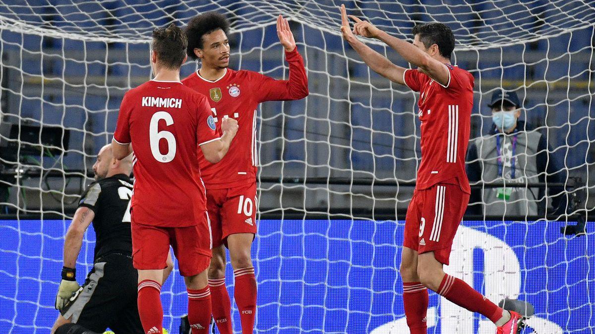 Der FC Bayern München schlägt Lazio Rom