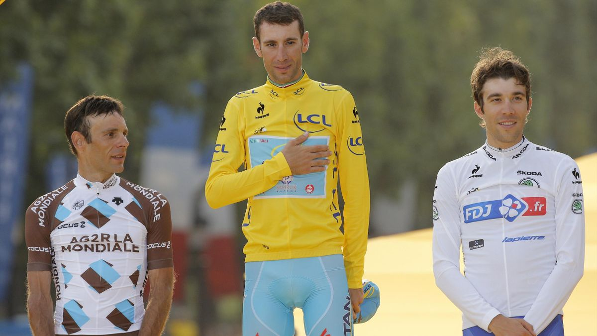 2014, Podium Tour de France Nibali, AP/LaPresse