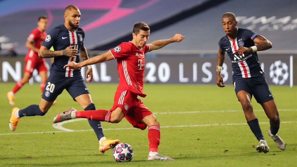Robert Lewandowski - FC Bayern vs PSG