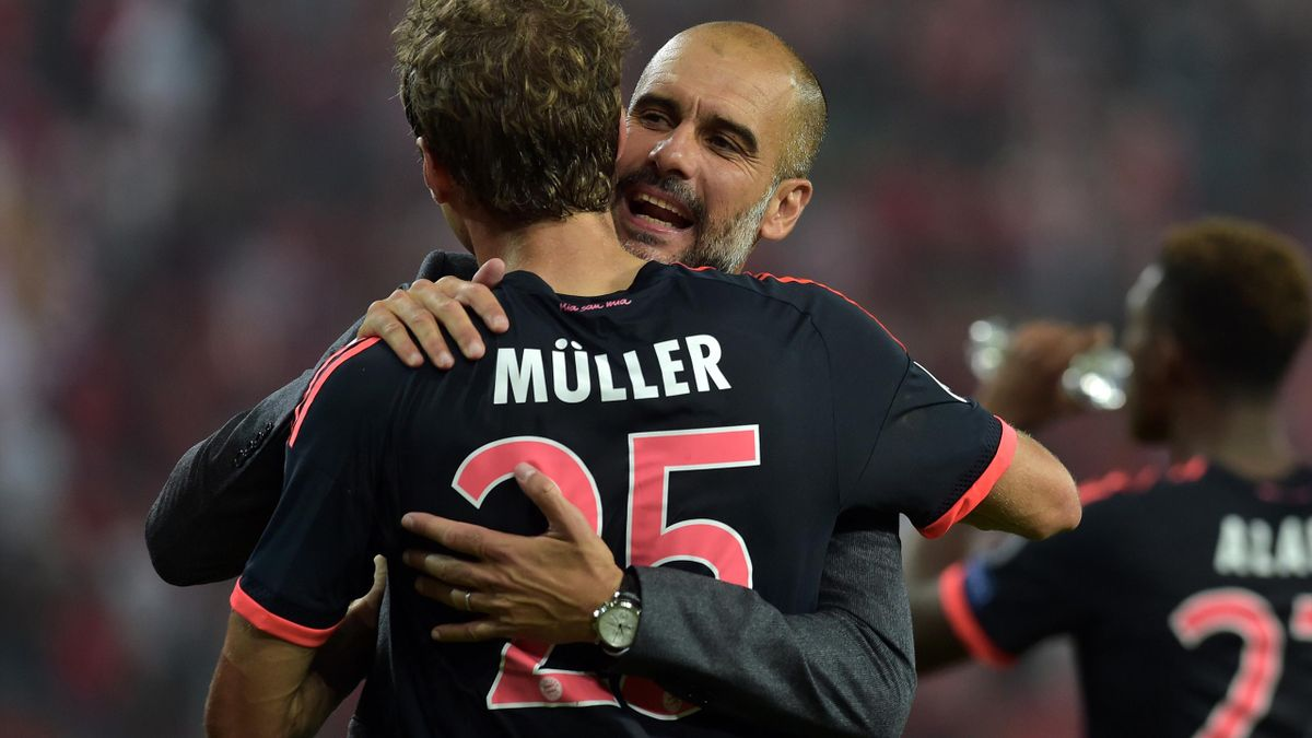 Pep Guardiola, Thomas Müller