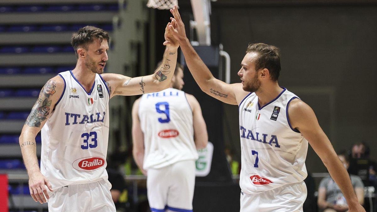 Achille Polonara, Stefano Tonut, Italia, torneo preolimpico di Belgrado 2021