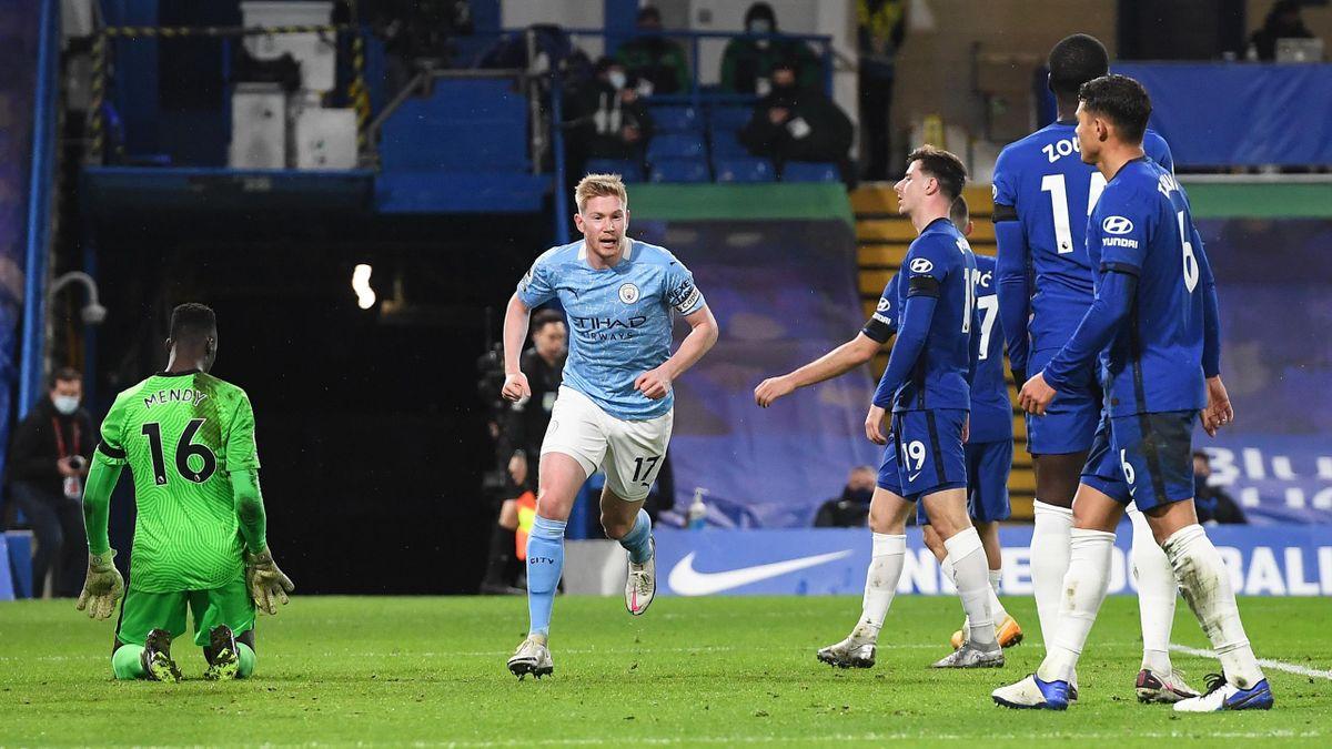 Kevin De Bruyne (Manchester City) im Spiel gegen den FC Chelsea