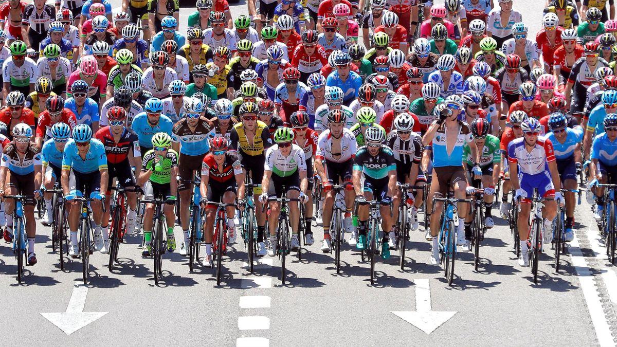 Pelotón de La Vuelta a España 2018