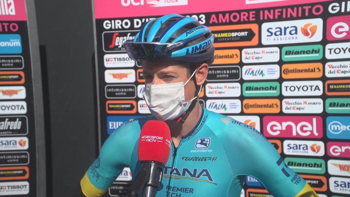 Giro d'Italia : itw start Fuglsang uk
