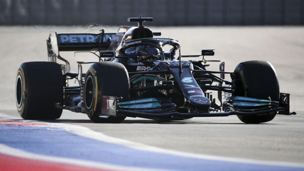 Lewis Hamilton (Mercedes) - GP of Russia 2021
