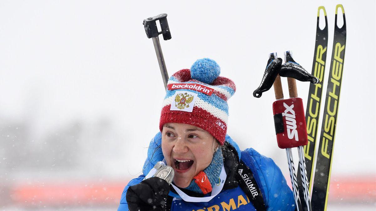 Екатерина Юрлова-Перхт, ЧМ-2019, женский масс-старт