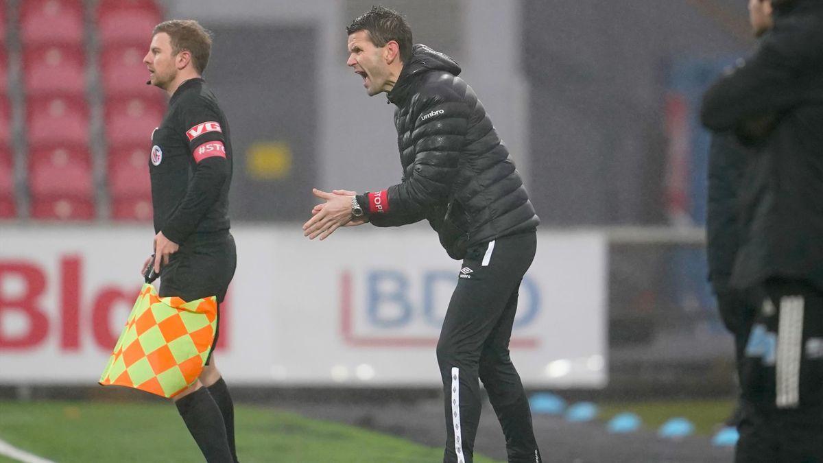 Sogndal-trener Eirik Bakke.