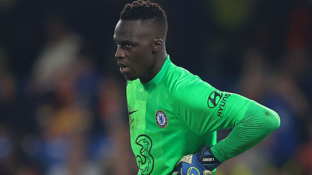 Chelsea goalkeeper Edouard Mendy