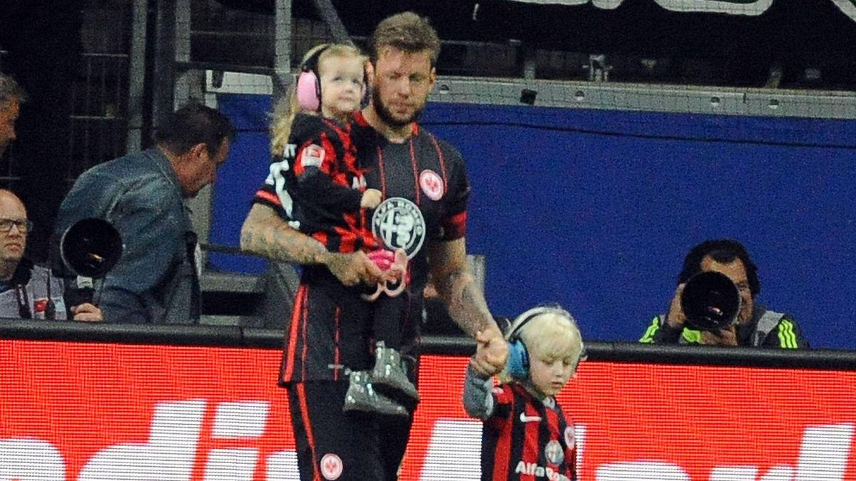 Marco Russ mit seinen Kindern