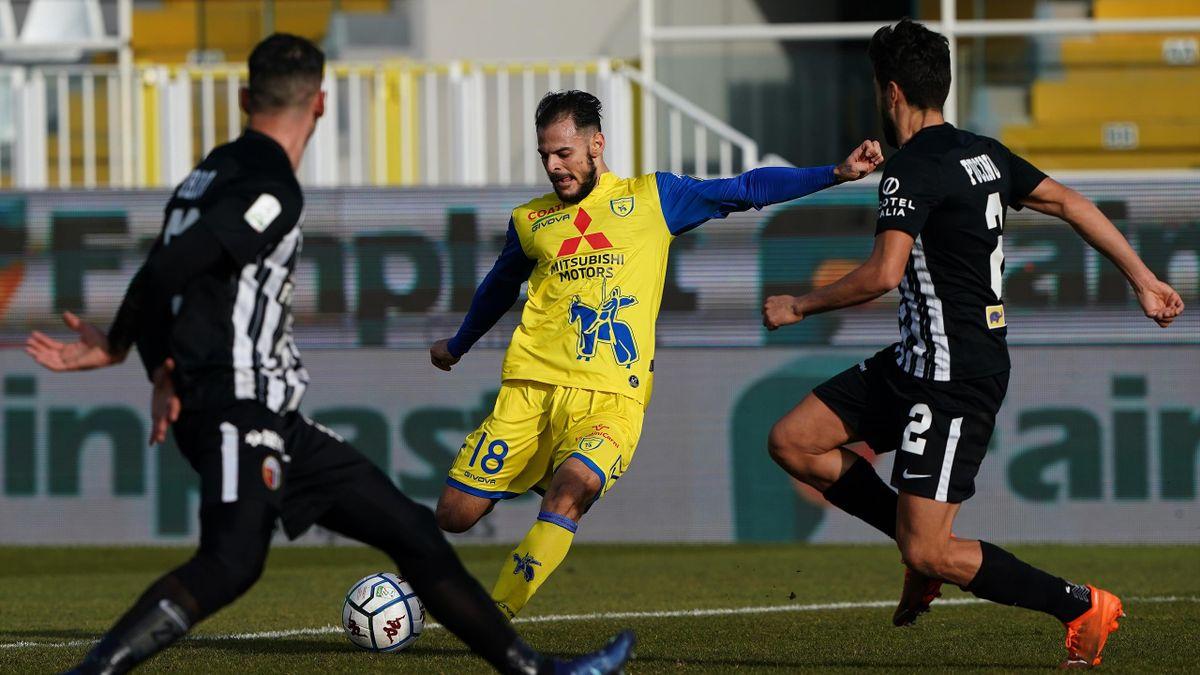 Ascoli-Chievo, Serie B 2020-2021: Luigi Canotto (Chievo) (Getty Images)