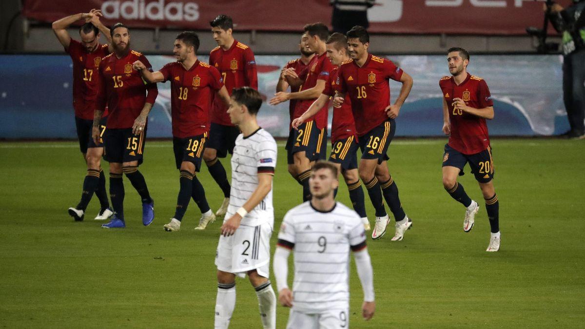 La détresse des Allemands face à la joie de l'Espagne