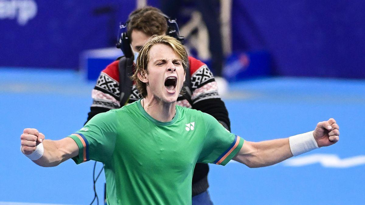 Zizou Bergs, la prima victorie în ATP
