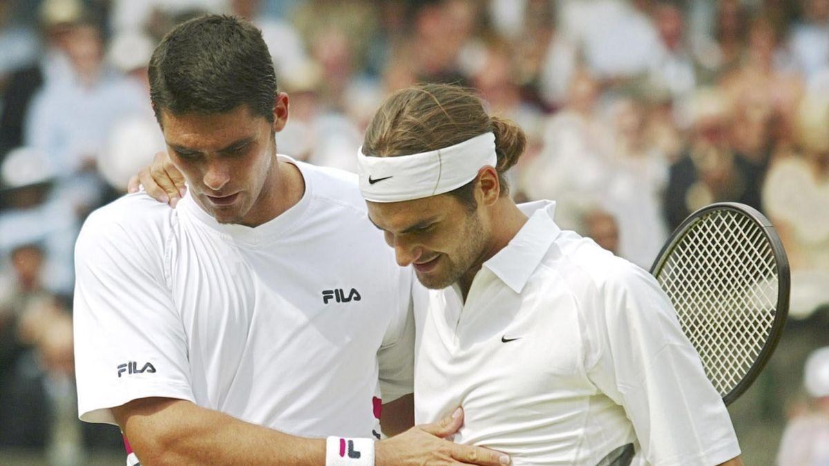 Federer Philippousis Wimbledon finale 2003
