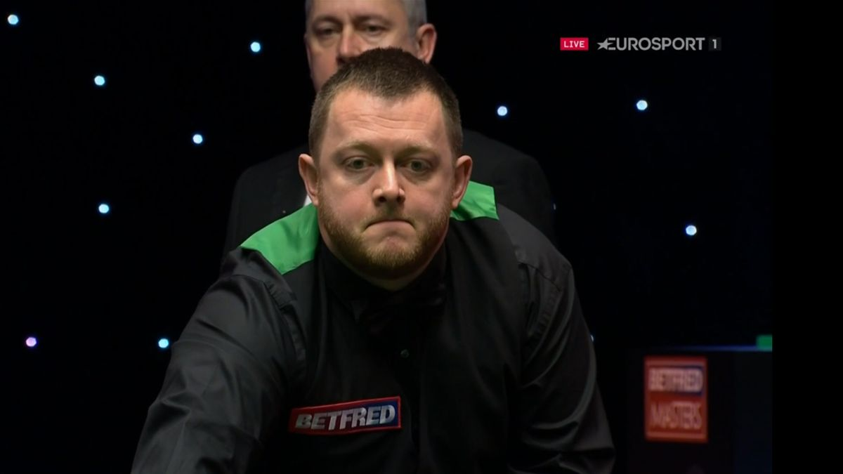 Mark Allen gets away with a fluke at the Masters