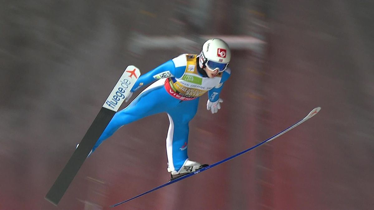 Ski Jumping Planica - Granerud's best jump for Norway winner of the competition