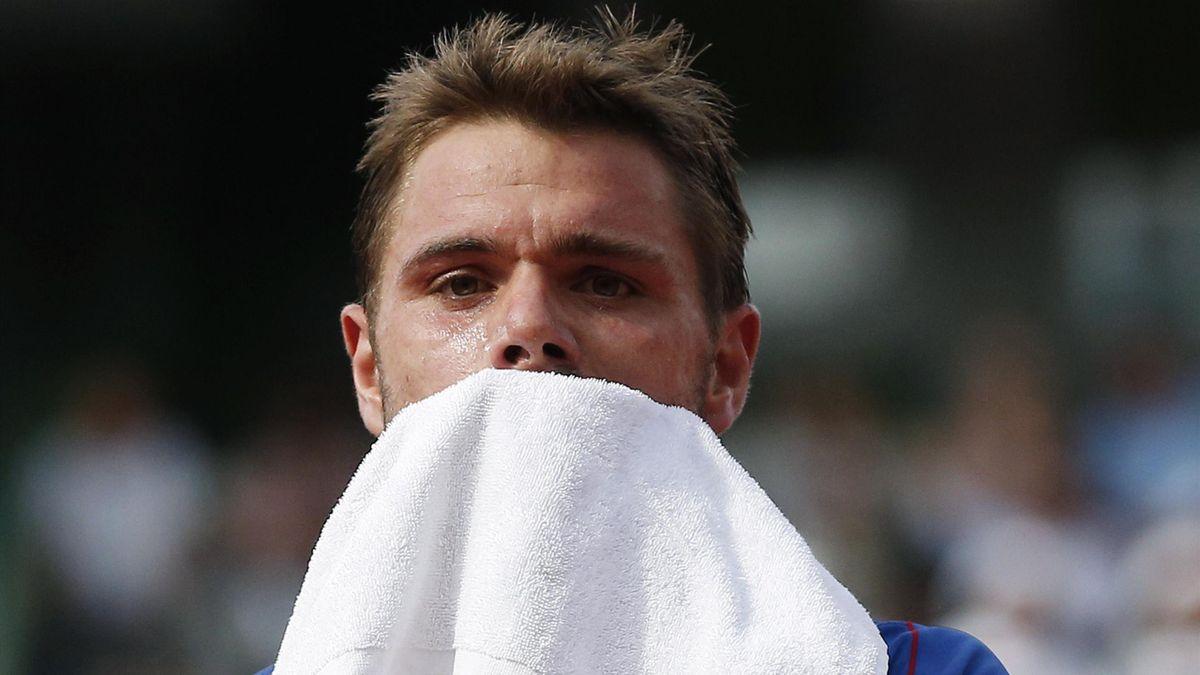 Stanislas Wawrinka déçu après son élimination