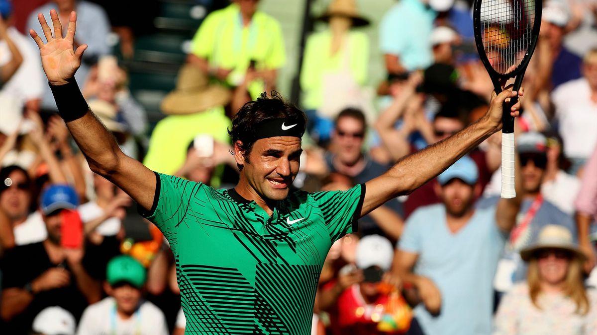 Roger Federer à Miami
