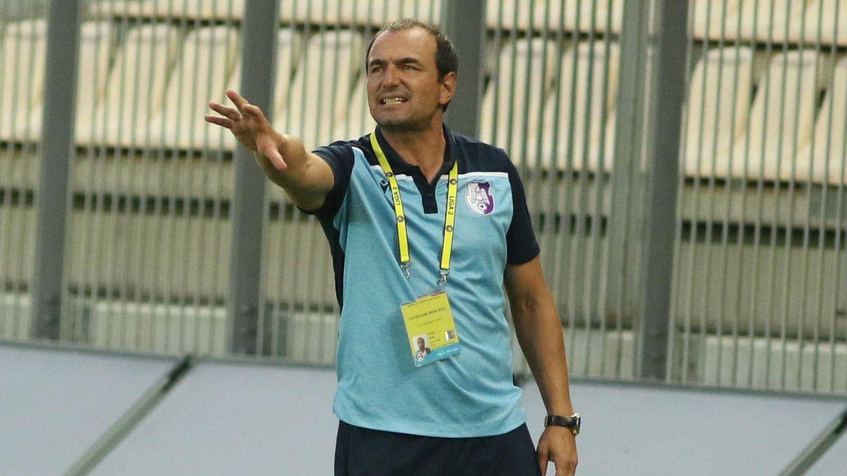 Ionuț Badea, tehnicianul celor de la FC Argeș