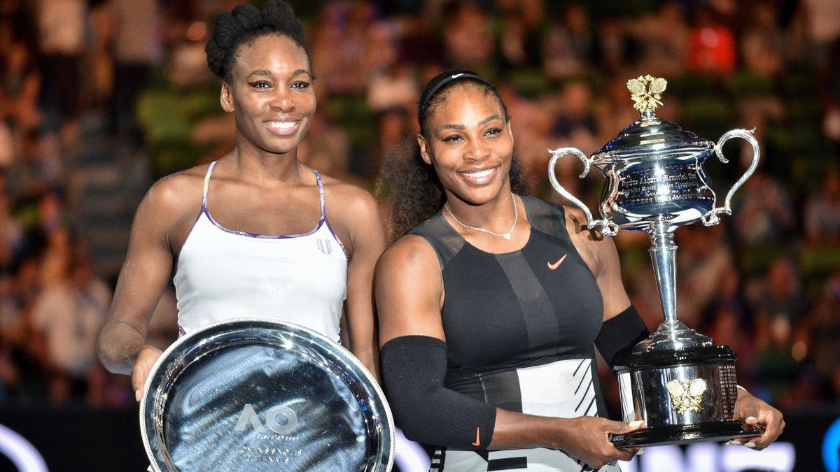 Venus and Serena Williams Australian Open 2017