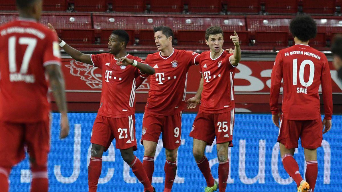FC Bayern jubelt gegen Leverkusen