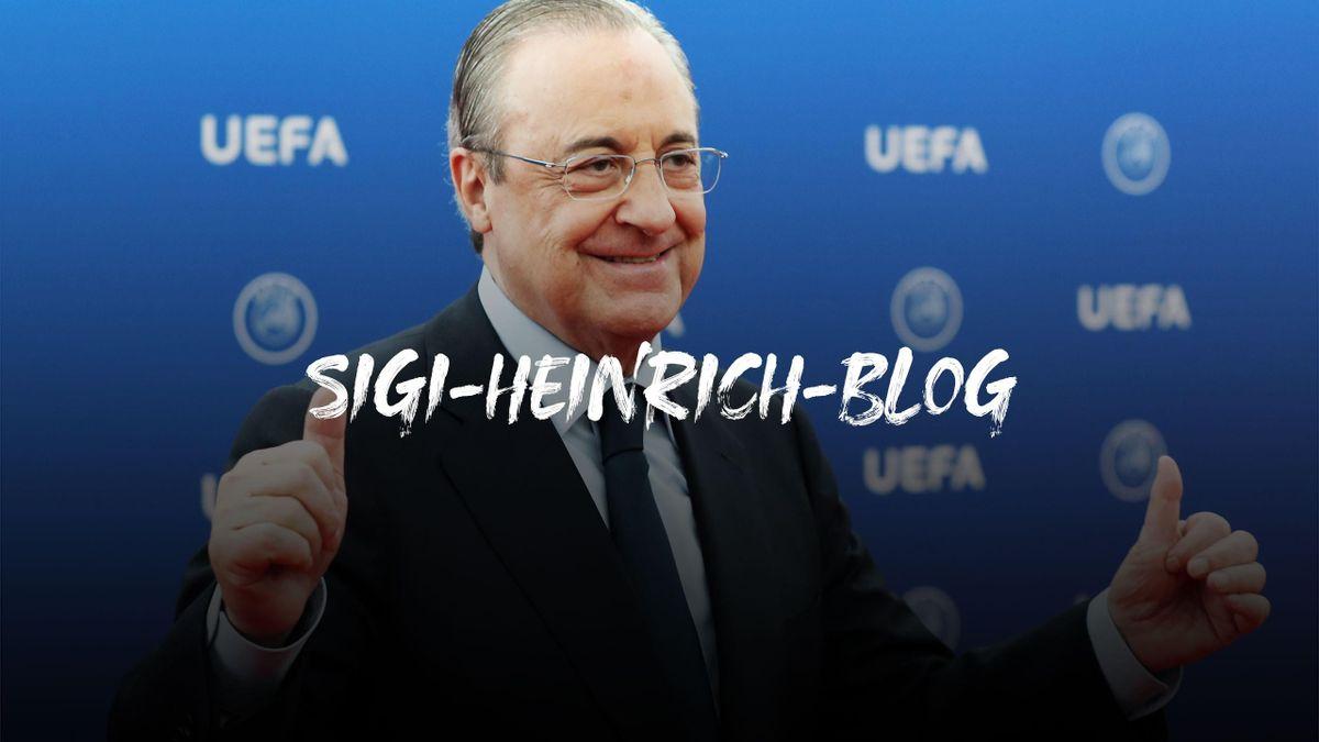 Florentino Pérez, Präsident von Real Madrid, ist Anführer der neuen Super League