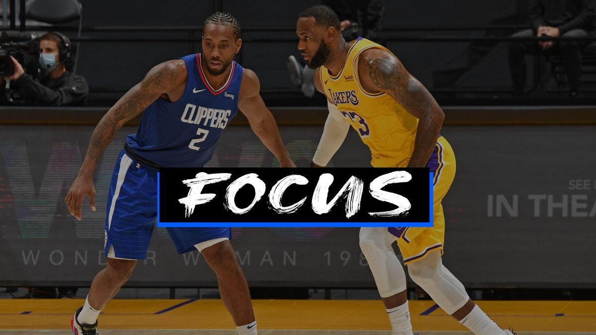 LeBron James e Kawhi Leonard, NBA 2020-21 - Focus