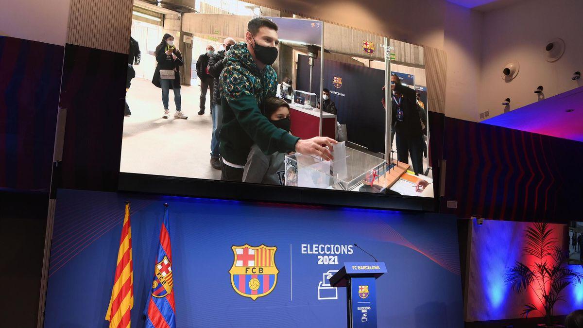 Leo Messi - Alegeri Barcelona