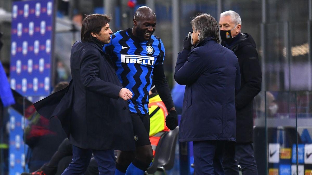 Romelu Lukaku, Antonio Conte, Inter, Getty Images