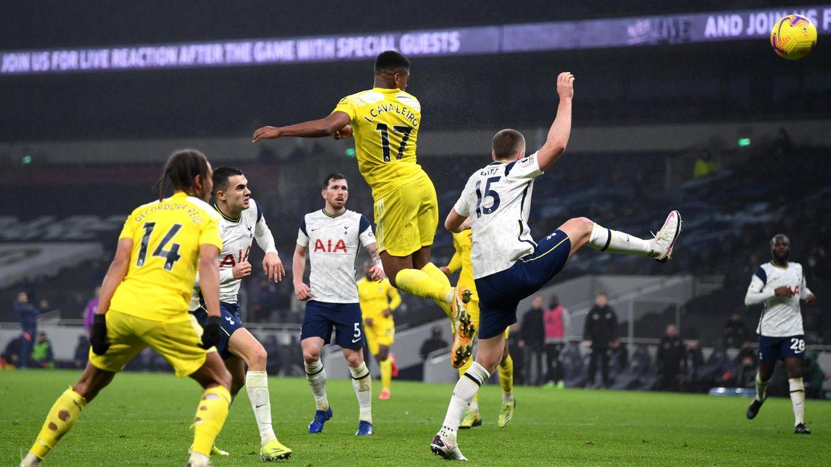 Ivan Cavaleiro, Tottenham-Fulham