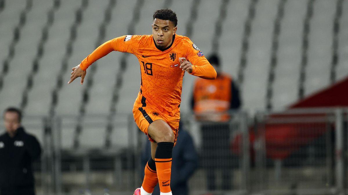 Donyell Malen im Einsatz für die niederländische Nationalmannschaft