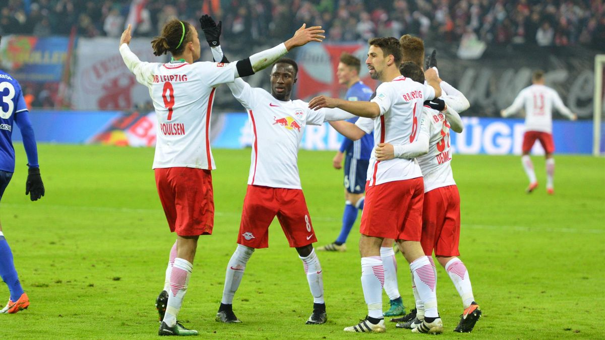 Poulsen Keita - RB Leipzig-Schalke 04 - Bundesliga 2016/2017 - Imago