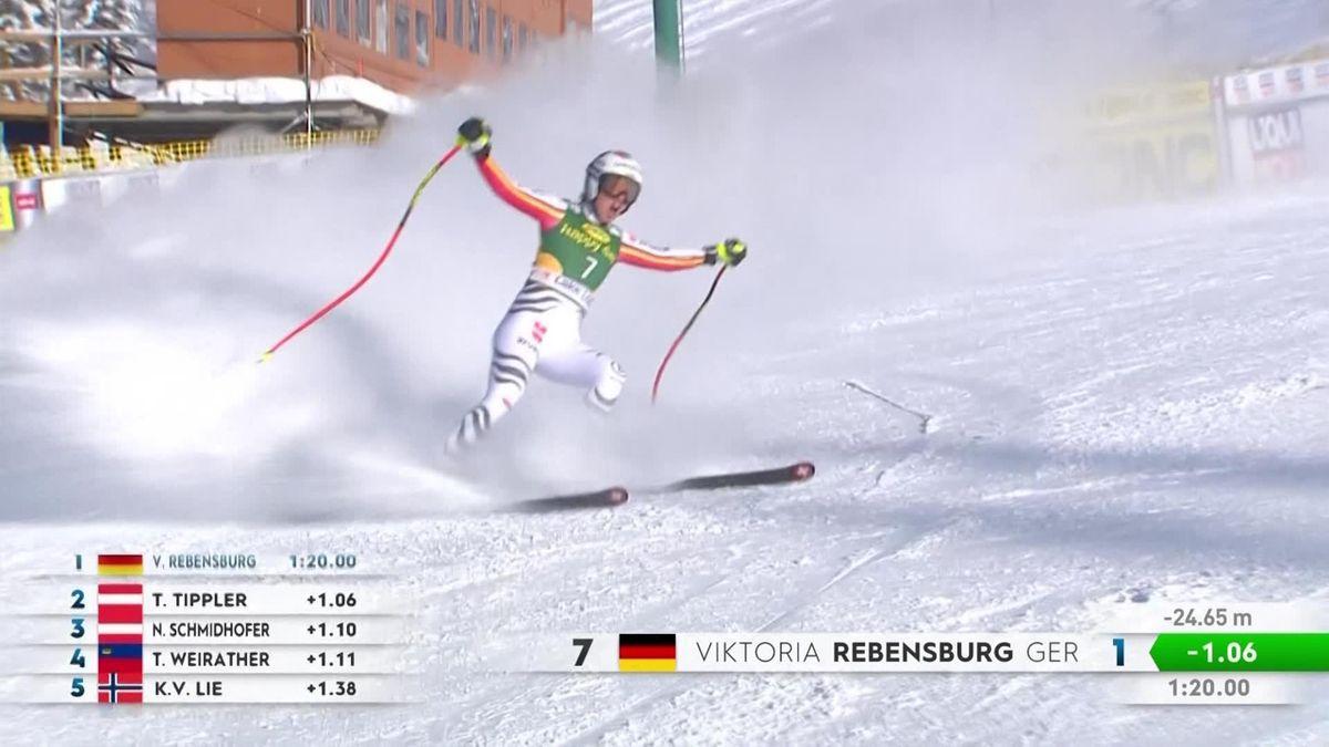Alpine Skiing - Lake Louise , Super G Women - 3 best runs