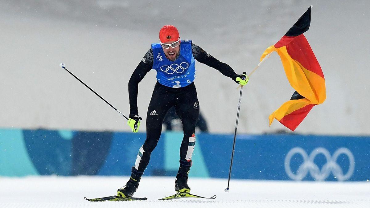 Йоханнес Ридзек приносит Германии золото в двоеборье