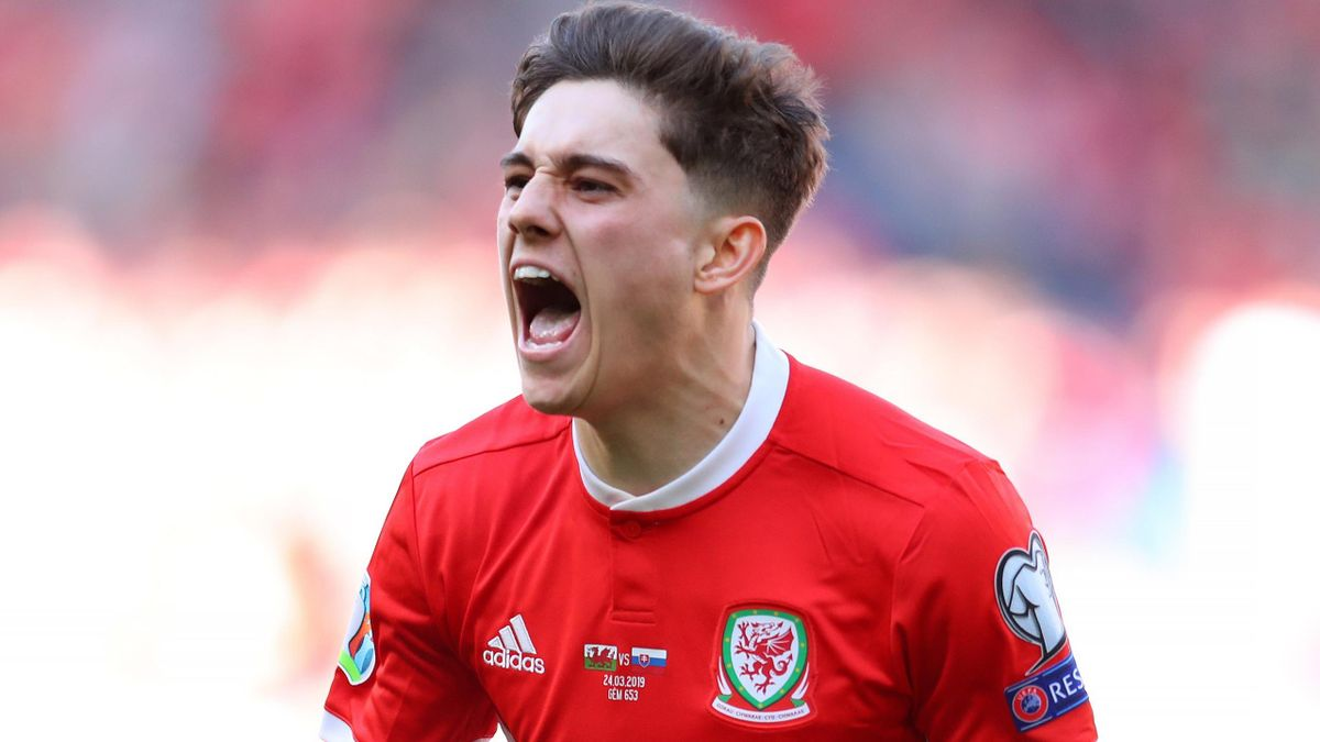 Daniel James scored Wales' only goal against Slovakia
