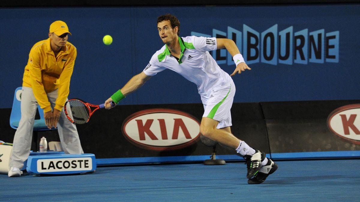 Erreichte fünfmal in seiner Karriere das Finale der Australian Open: Andy Murray