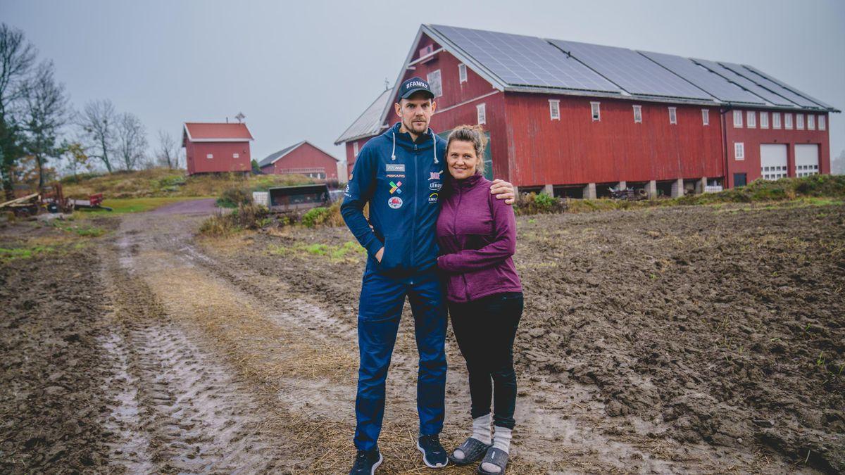 Olaf Tufte og kona Aina