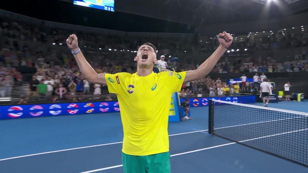 ATP CUP - Highlights Zverev - De Minaur