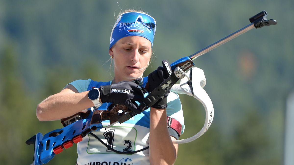 Vanessa Hinz bei den Deutschen Meisterschaften im September 2019