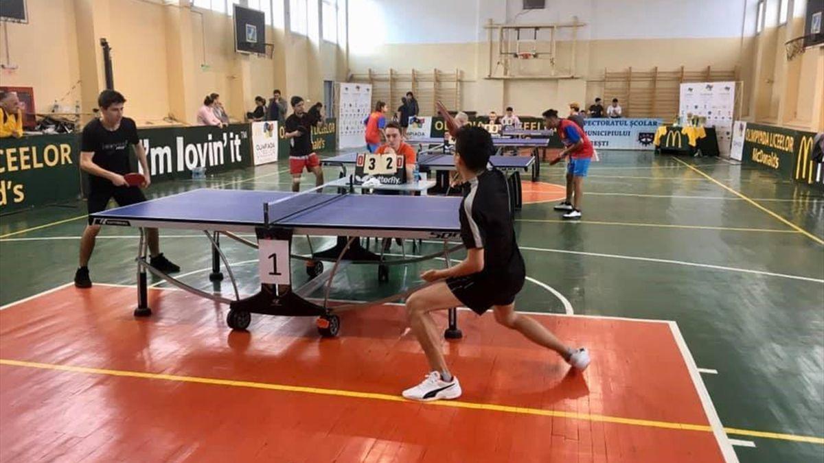 Olimpiada Liceelor Tenis de Masa
