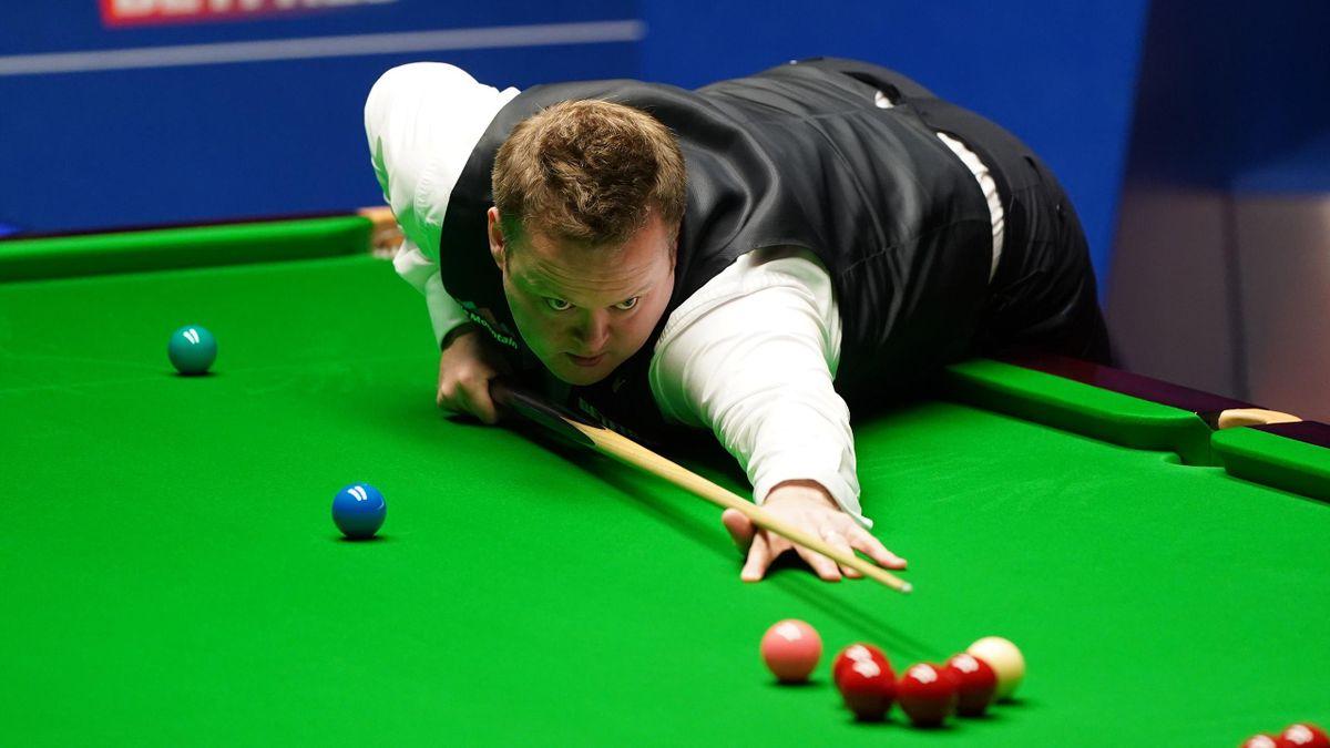 Shaun Murphy im Finale der Snooker-WM 2021