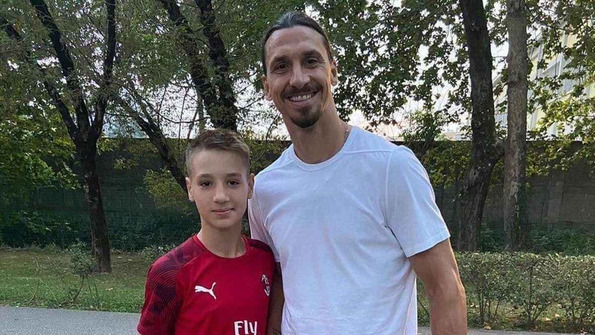 Francesco Camarda și Zlatan Ibrahimovic